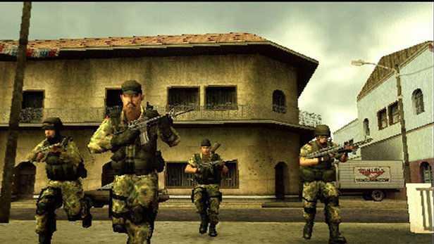 SOCOM U.S. Navy SEALS: Tactical Strike For PPSSPP