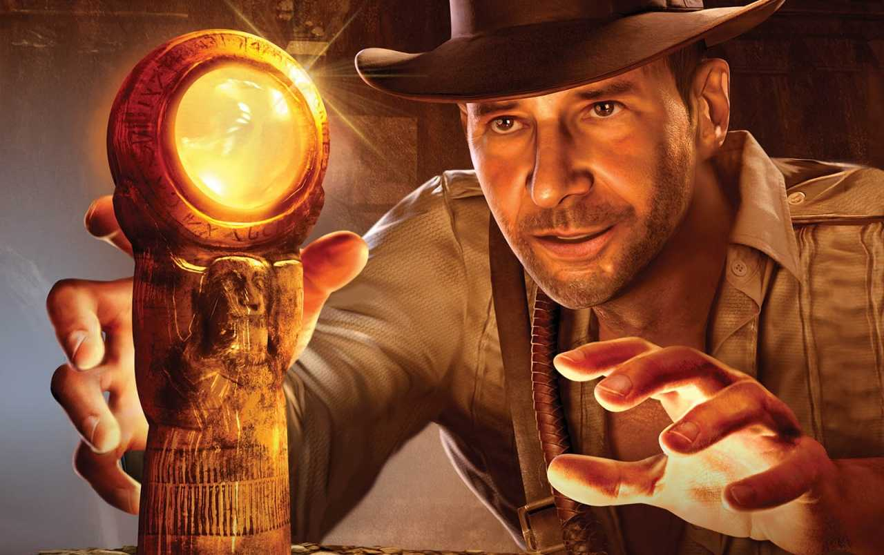 Indiana Jones and the Staff of Kings In Compressed Size For PSP