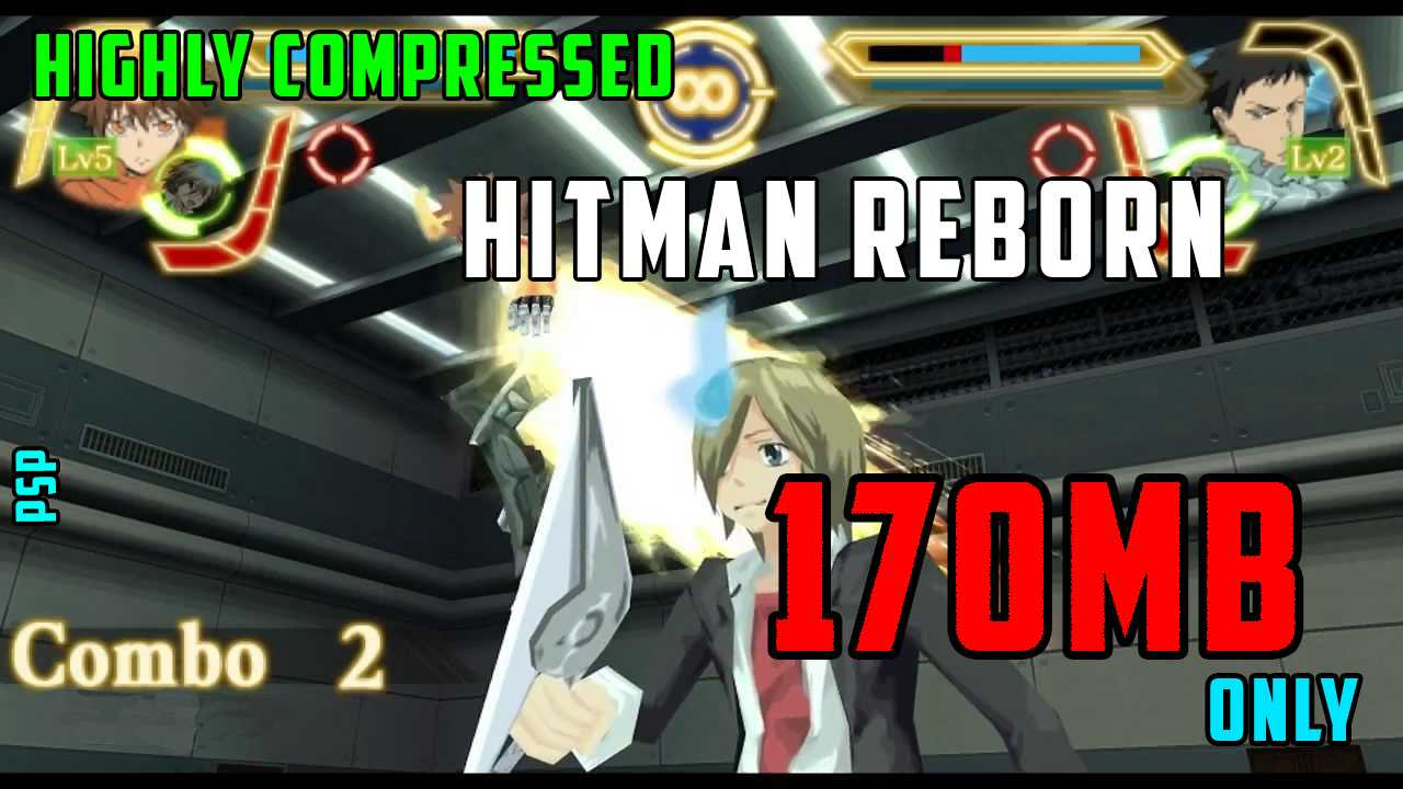 Download Hitman Reborn! No Tag In Highly Compressed Size For PSP